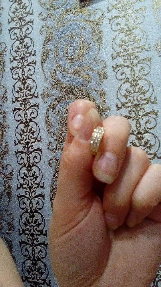 Золотые серёжки с фианитом