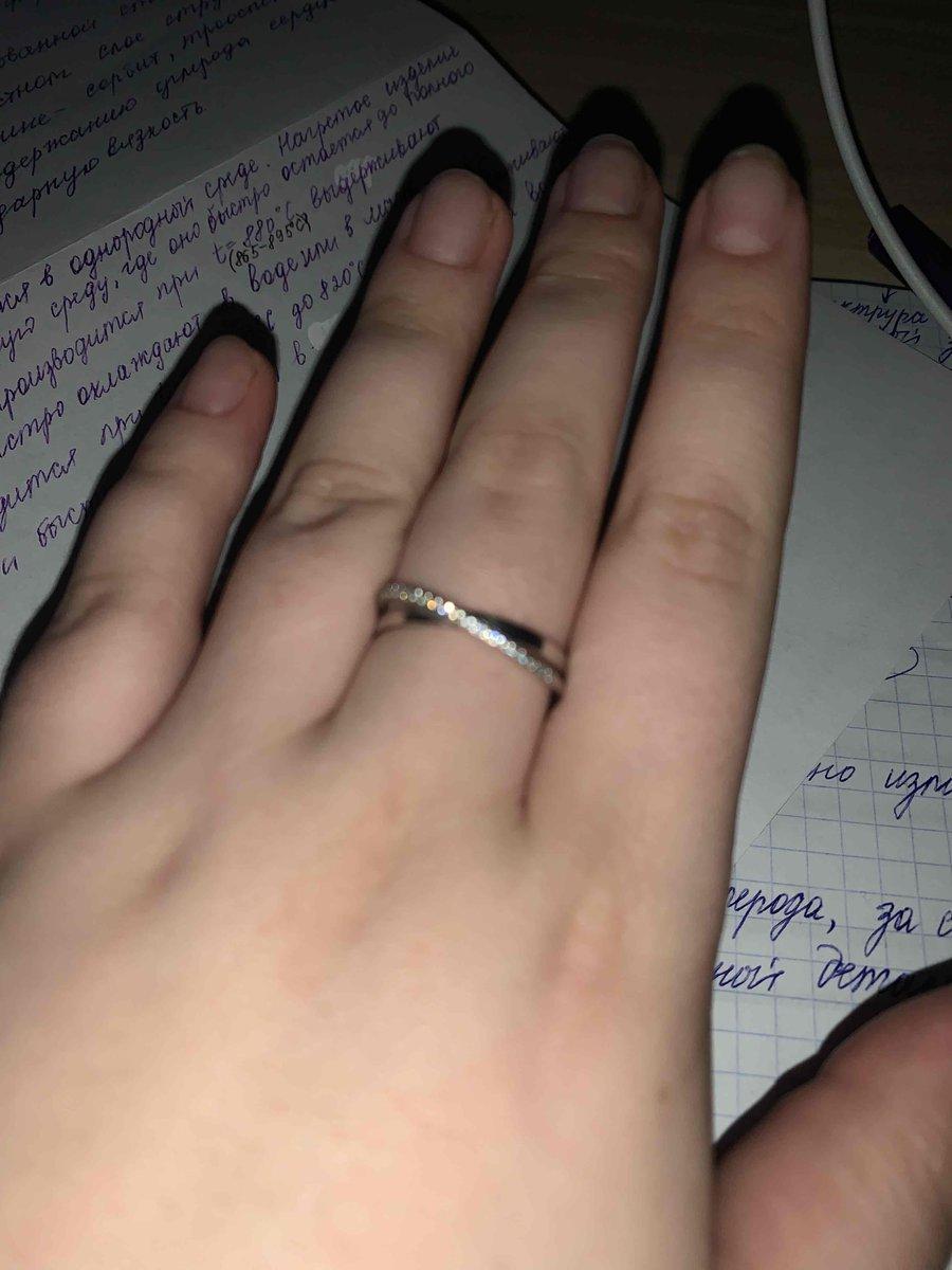 Кольцо в ювелирном магазине