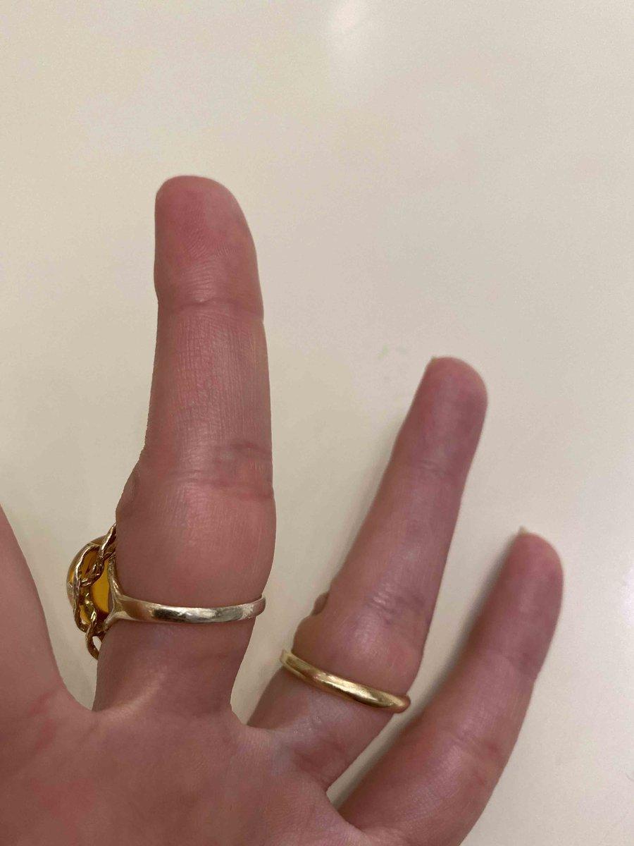 Кольцо серебро с янтарем теряет золотое напыление на 2-й неделе