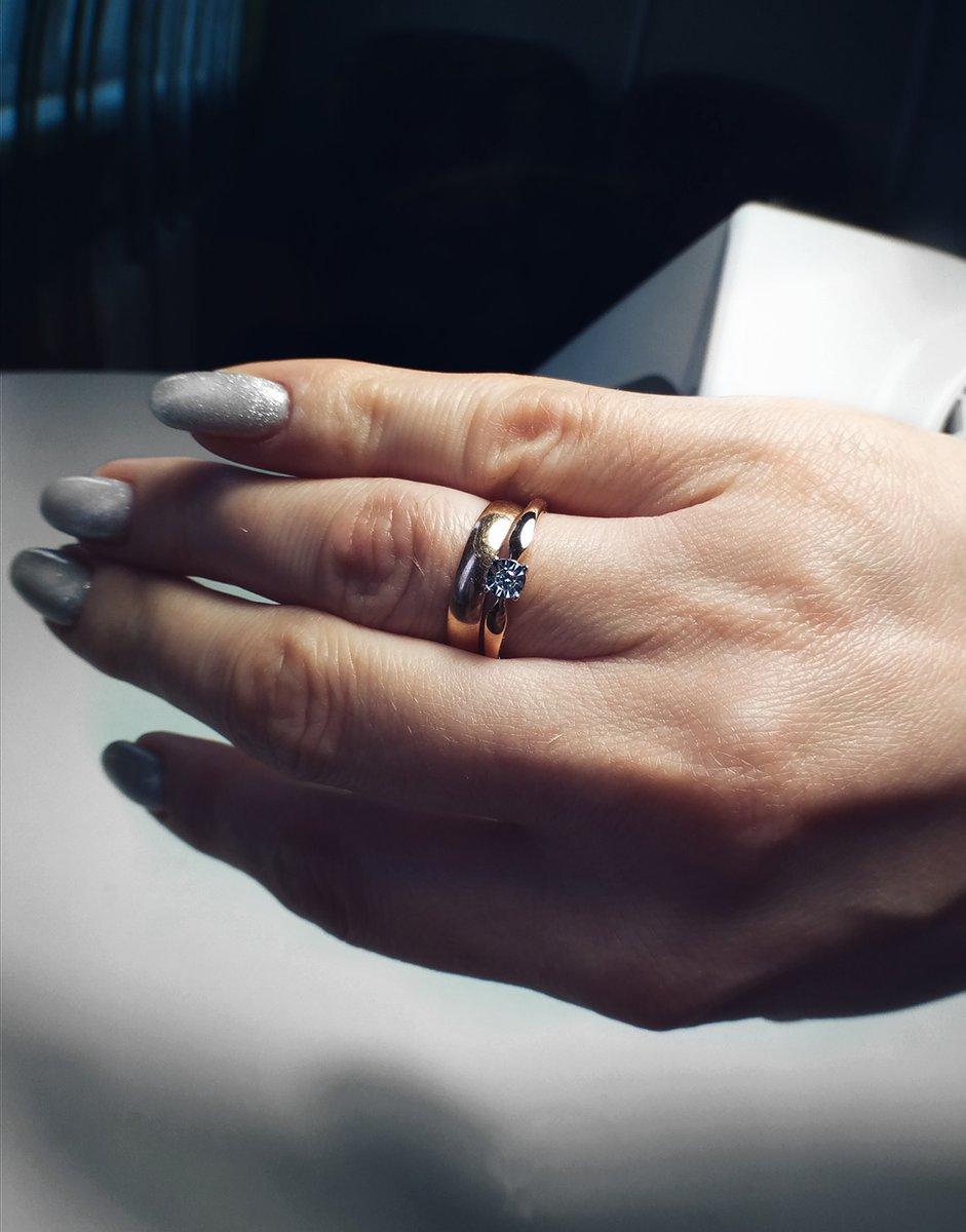 Милое кольцо для утонченных натур))