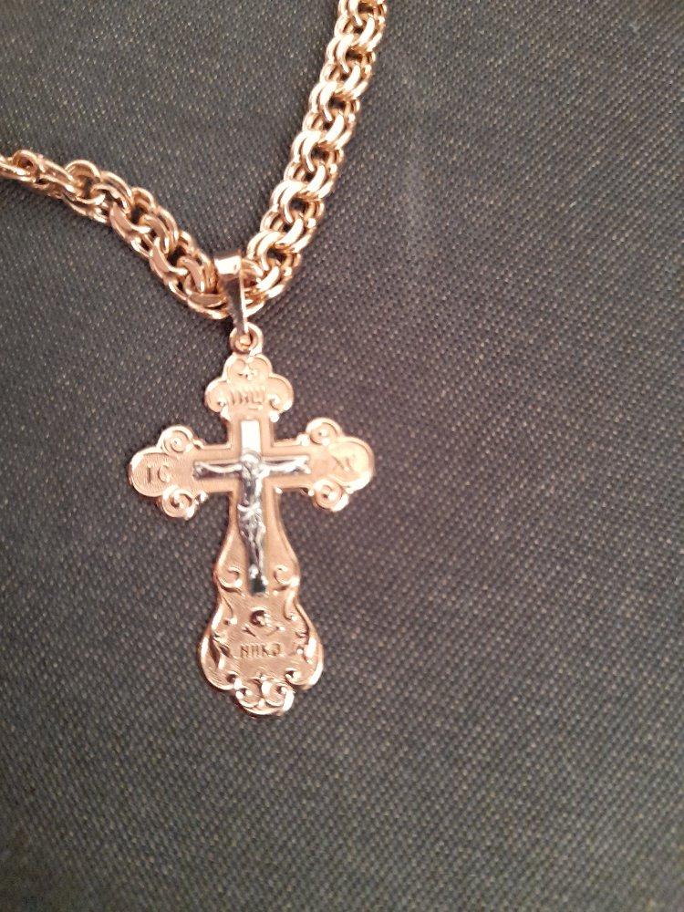 Золотой крест.