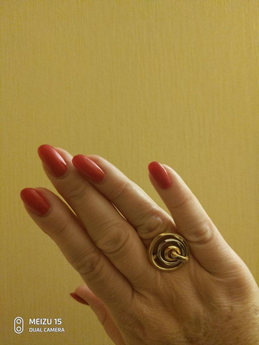 Кольцо из итальянской коллекции