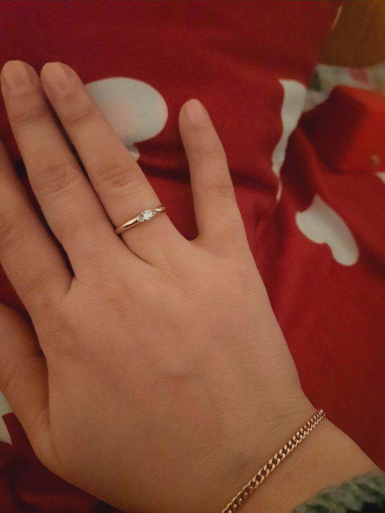Кольцо хорошая качественная маленький нежный