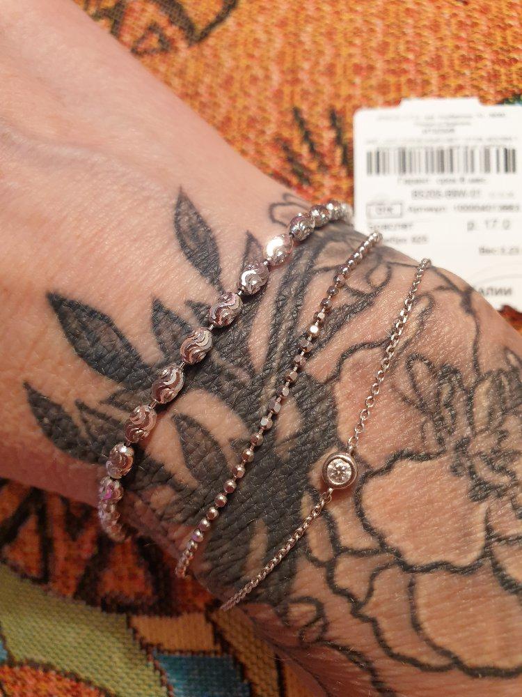 Сказочный браслет из серебра