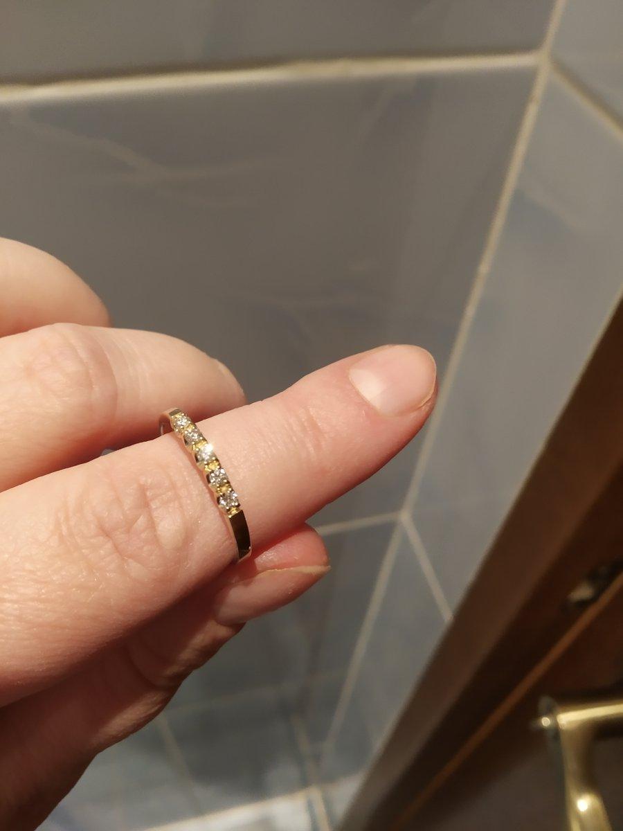 Кольцо жёлтое золото