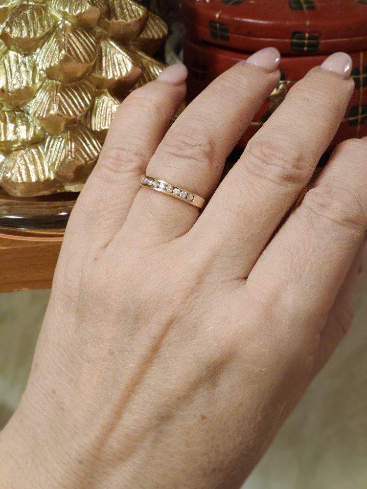 Кольцо сияющее