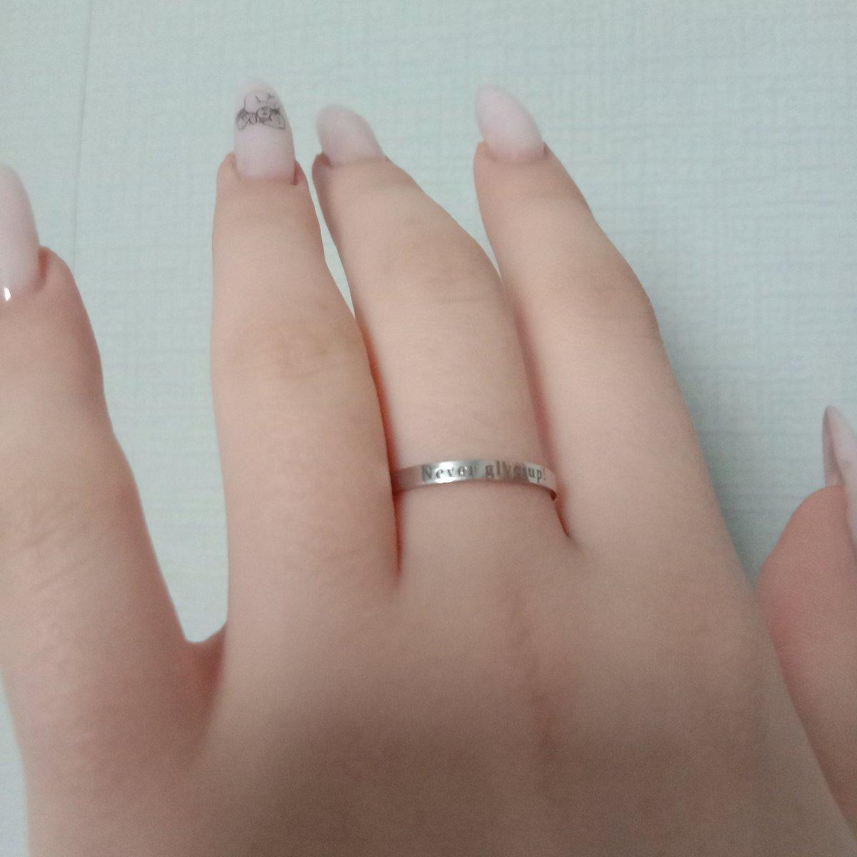 Покупала серебряное кольцо