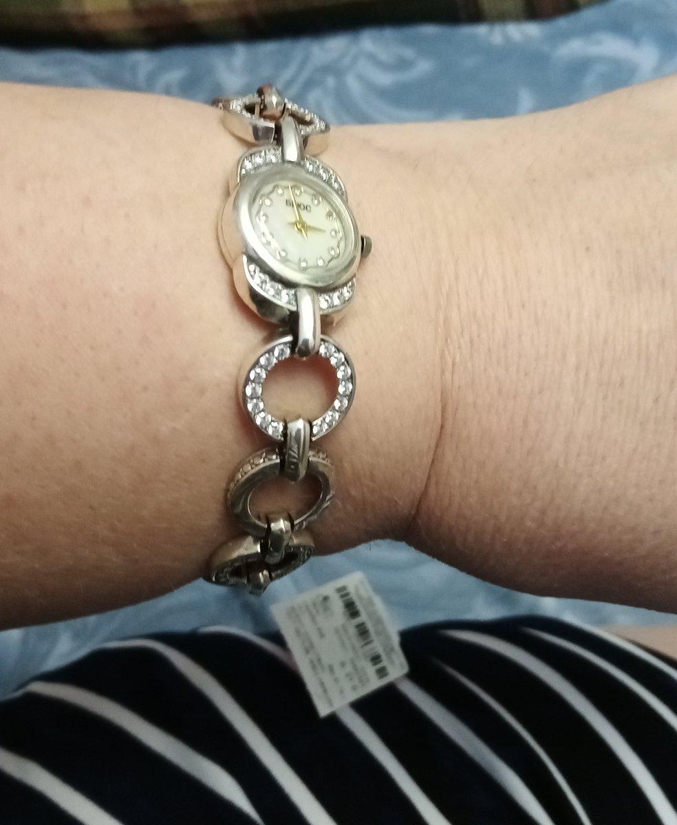 Часы серебряны