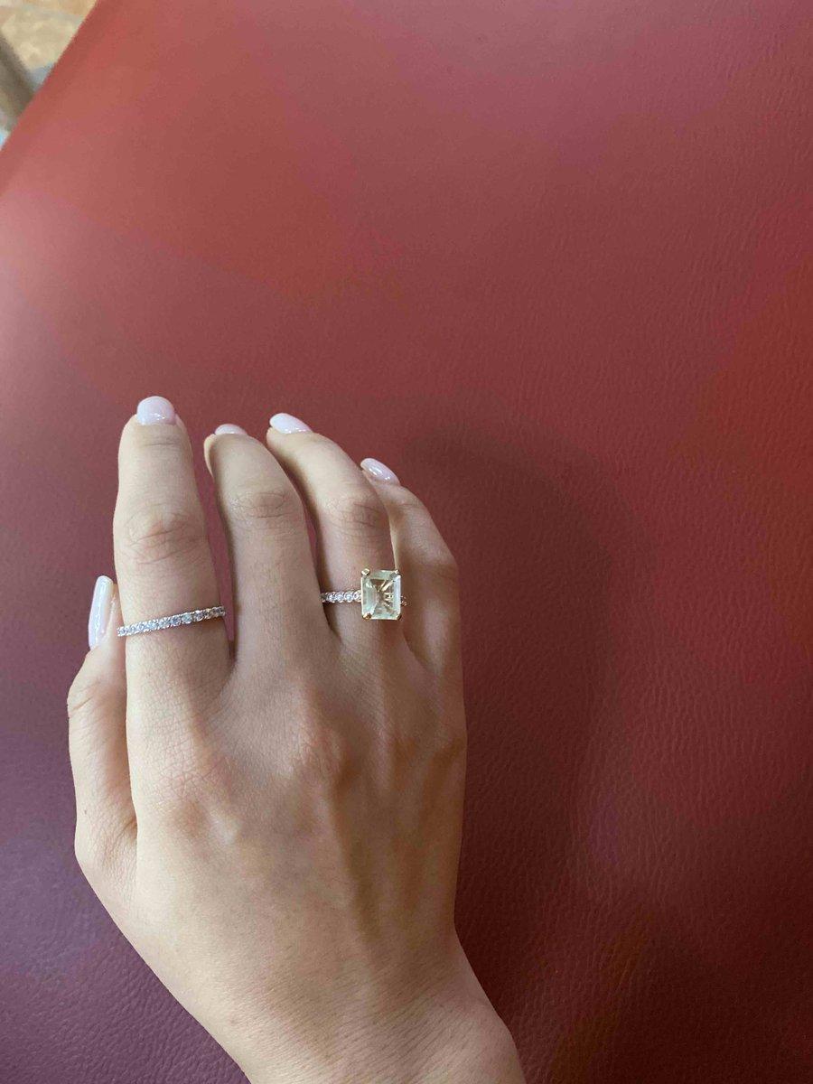 Спасибо за кольцо