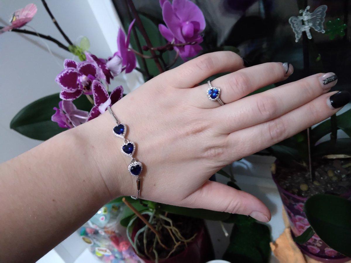Шикарный серебряный браслет