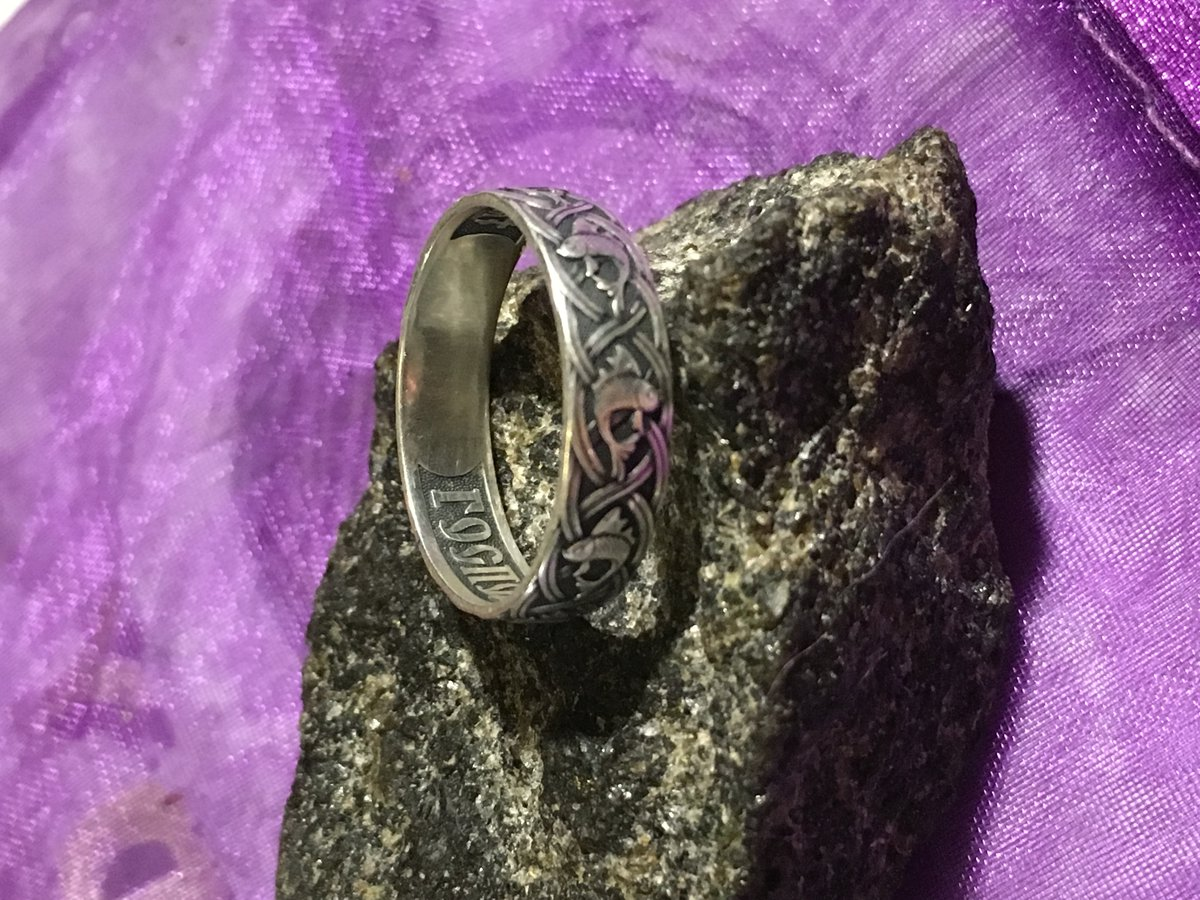 Замечательное православное кольцо