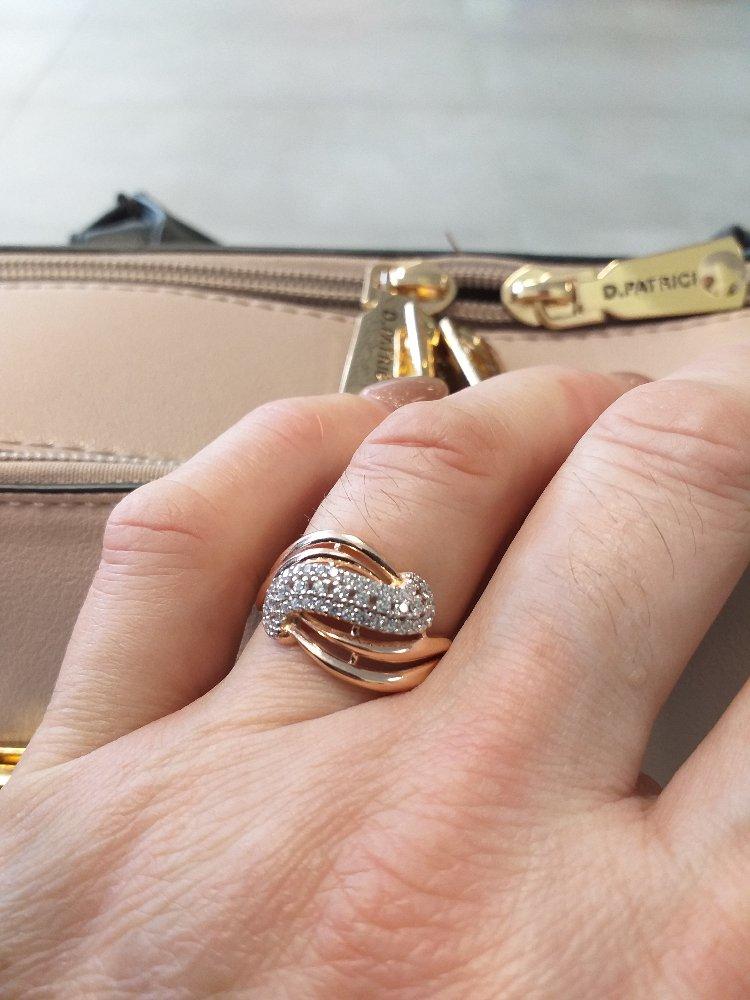 Пришла за серёжками, увидела кольцо и влюбилась!!!!