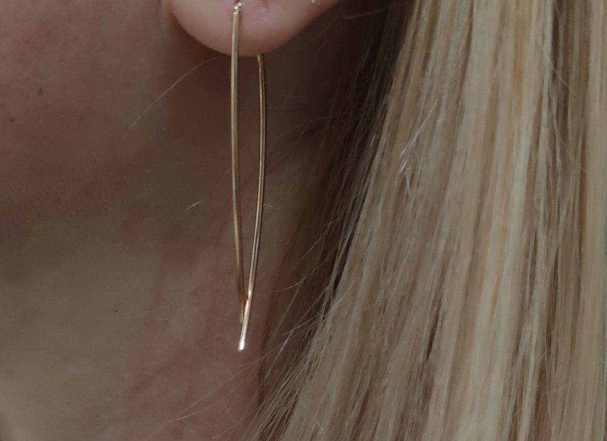 Сережки серебряные, но смотрятся как золотые.