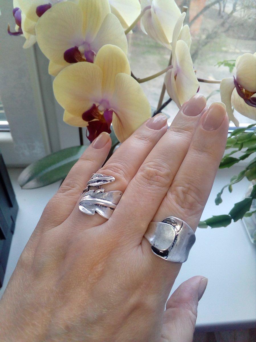 Кольцо металлизированное.