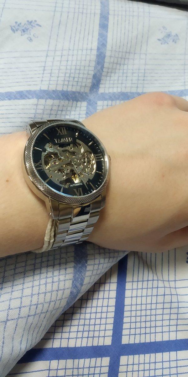 Часы tamer (скелетоны)