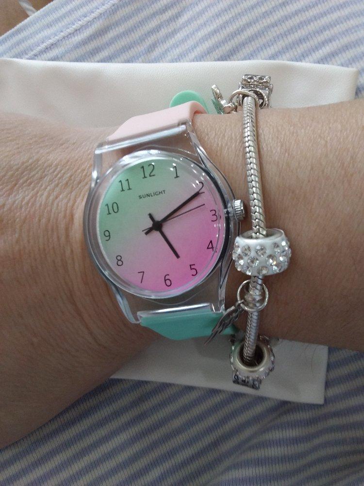 Часы силиконовые