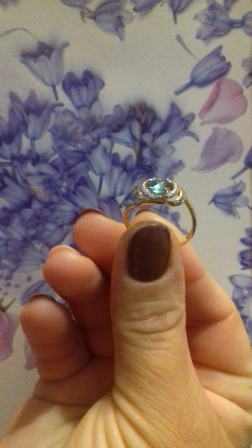 Кольцо с тапазам