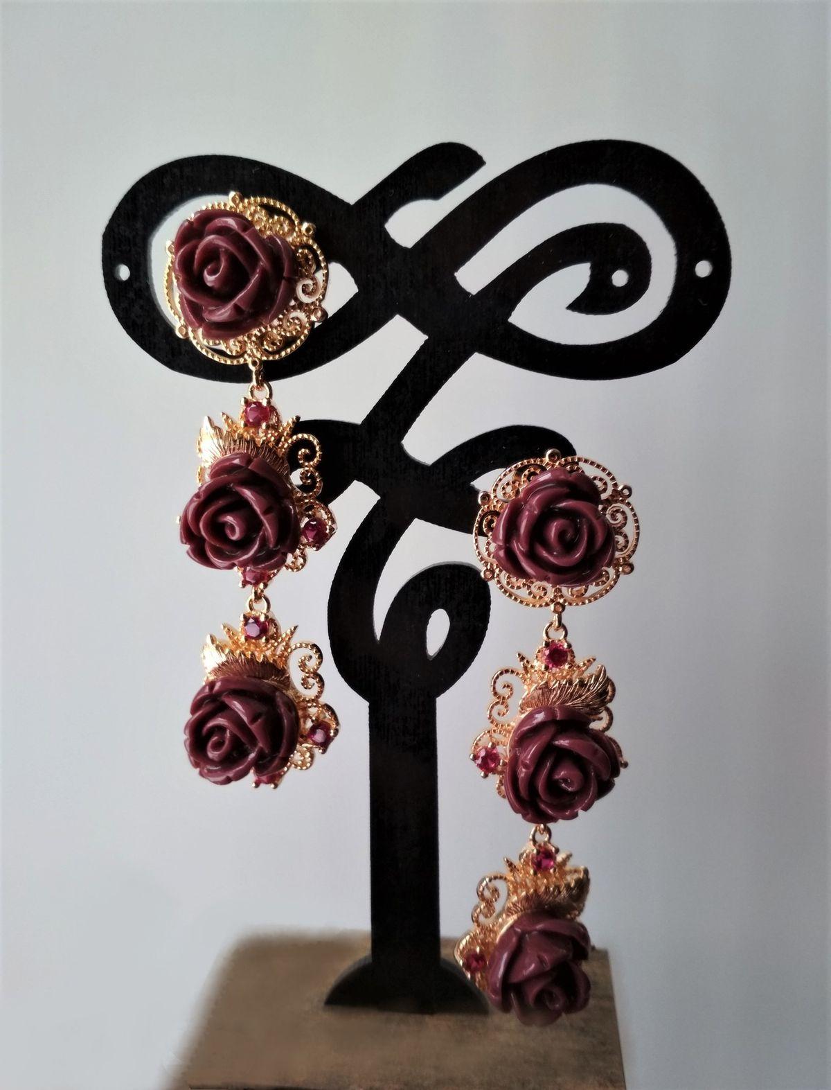 Ажур и розы