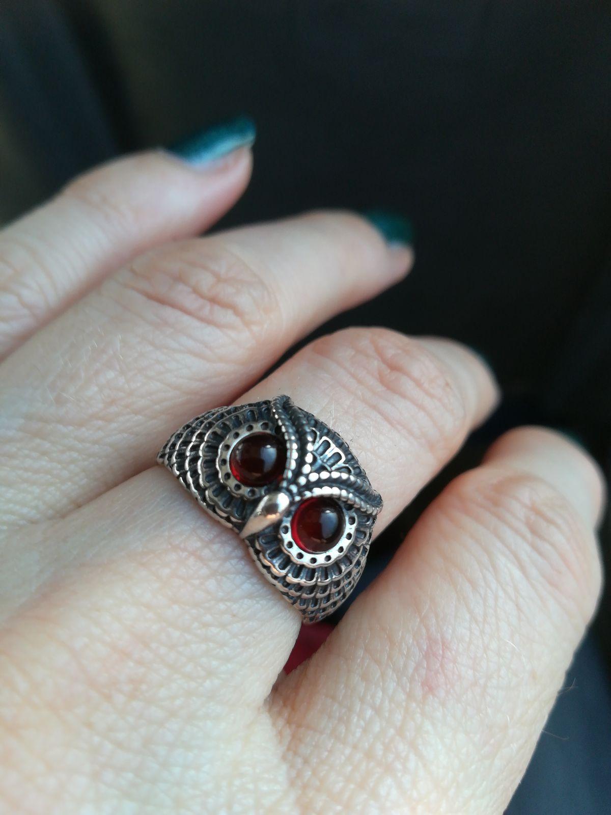 Кольцо сова