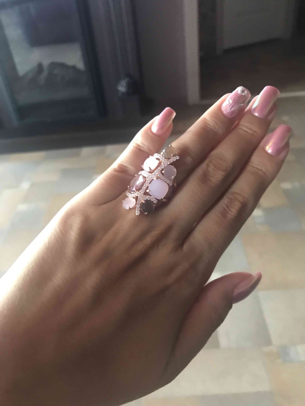 Уникальное кольцо