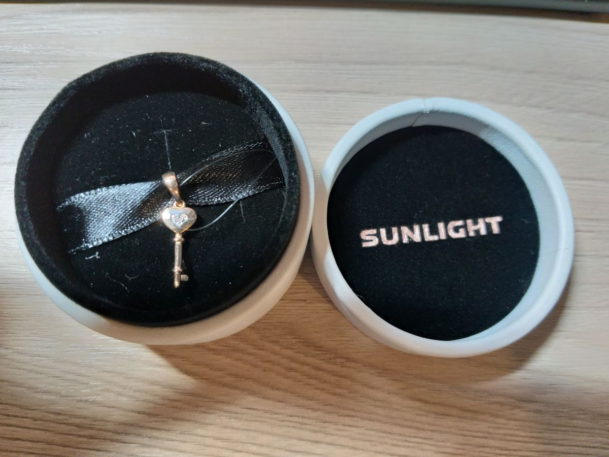 Золотой ключик с бриллиантами
