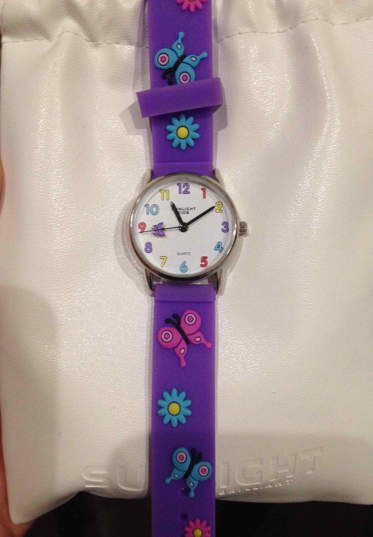 Отличные часы для ребенка