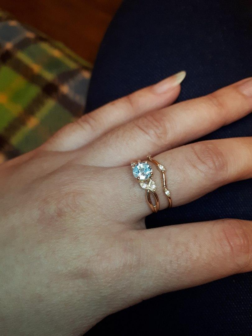 Нереально крутое кольцо)