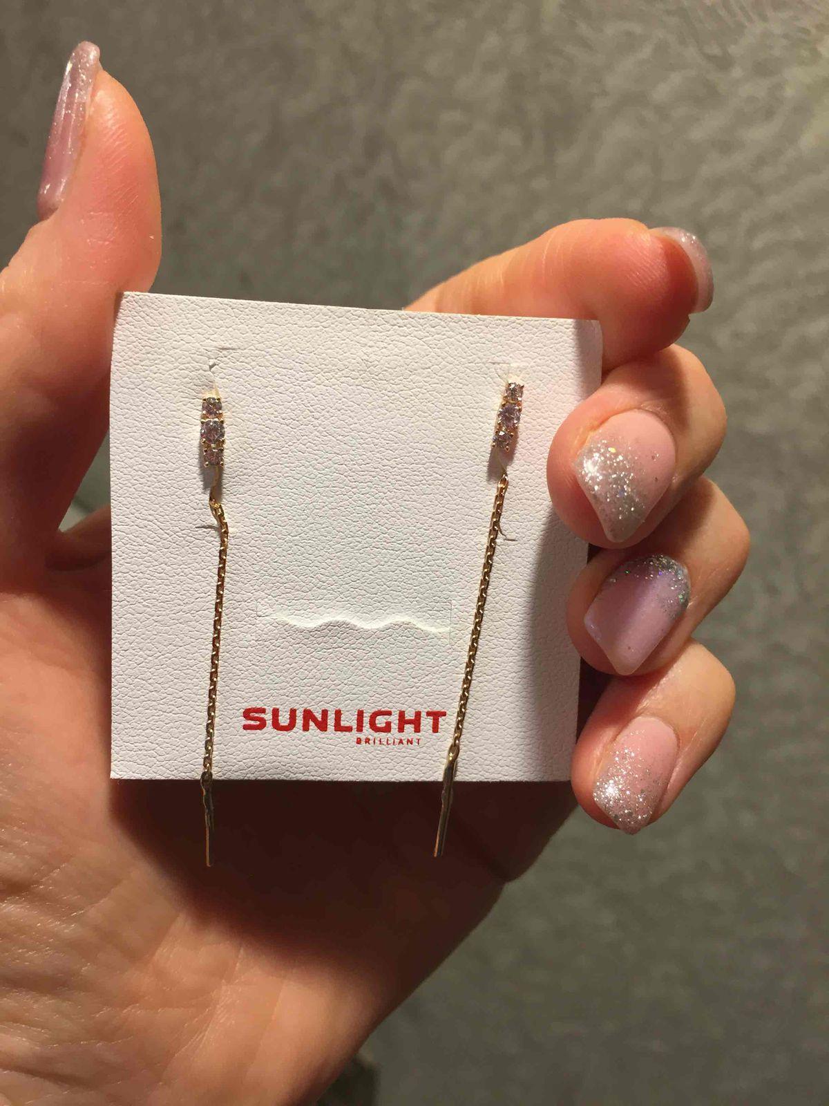 Спасибо за подарки от SUNLIGHT