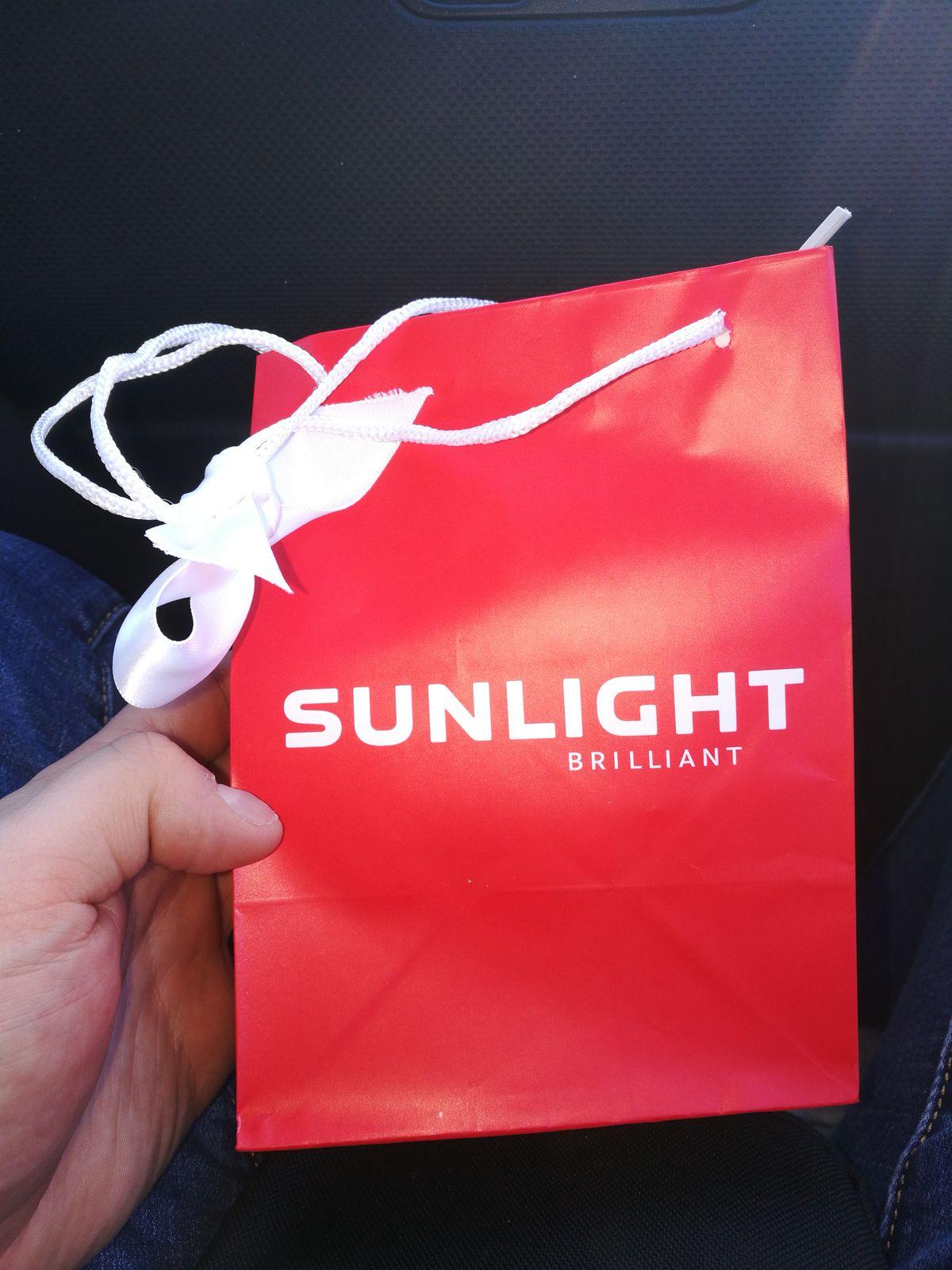 Первая покупка в sunlight