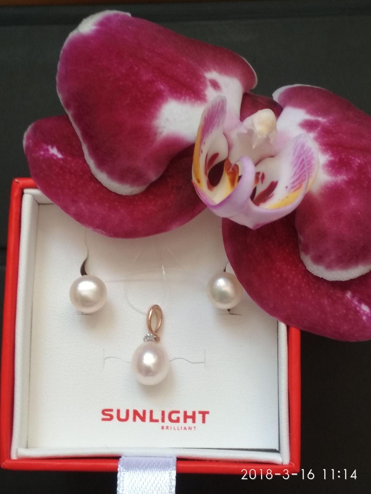 Нежные жемчужины в подарок