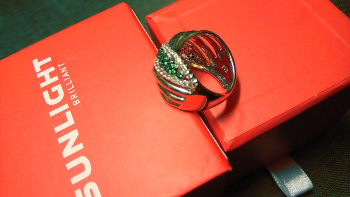 Крупное и красивое кольцо!