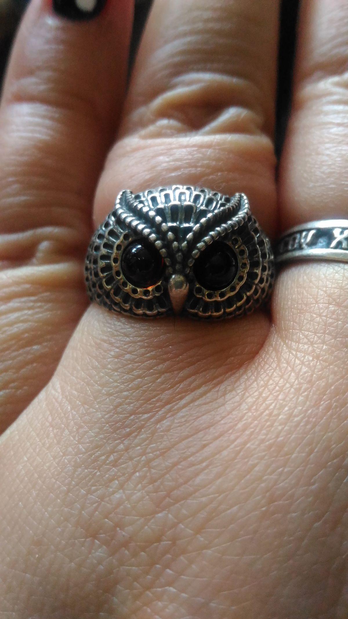 Отзыв о кольце с янтарём