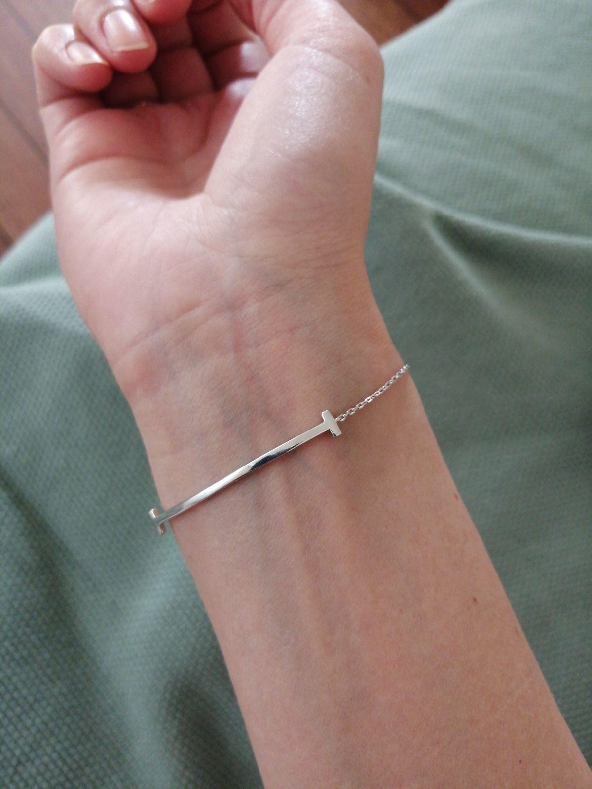 Тонкий браслет