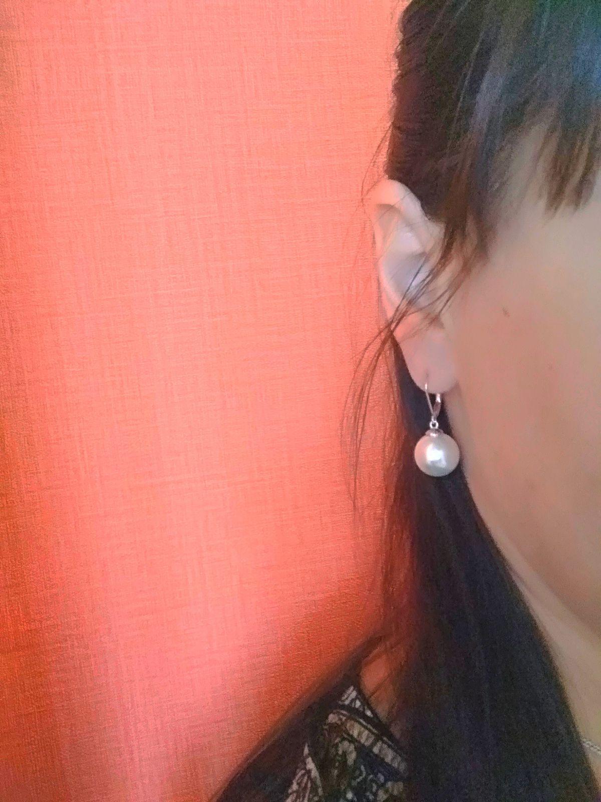 Серебряные серьги с жемчугом -отличное приобретение + хорошее настроение))