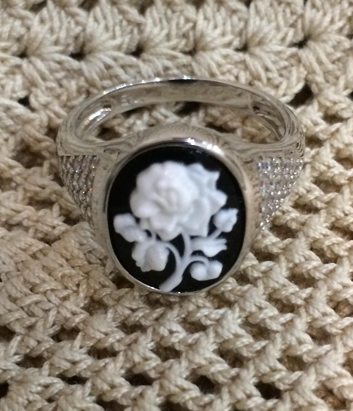 Кольцо в винтажном стиле