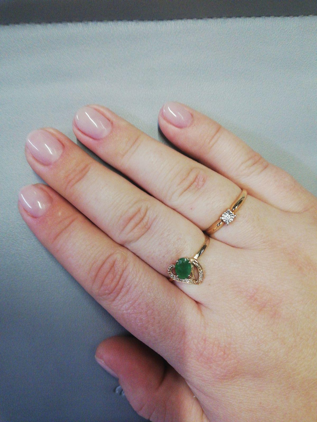 Отличное кольцо в качестве помолвочного