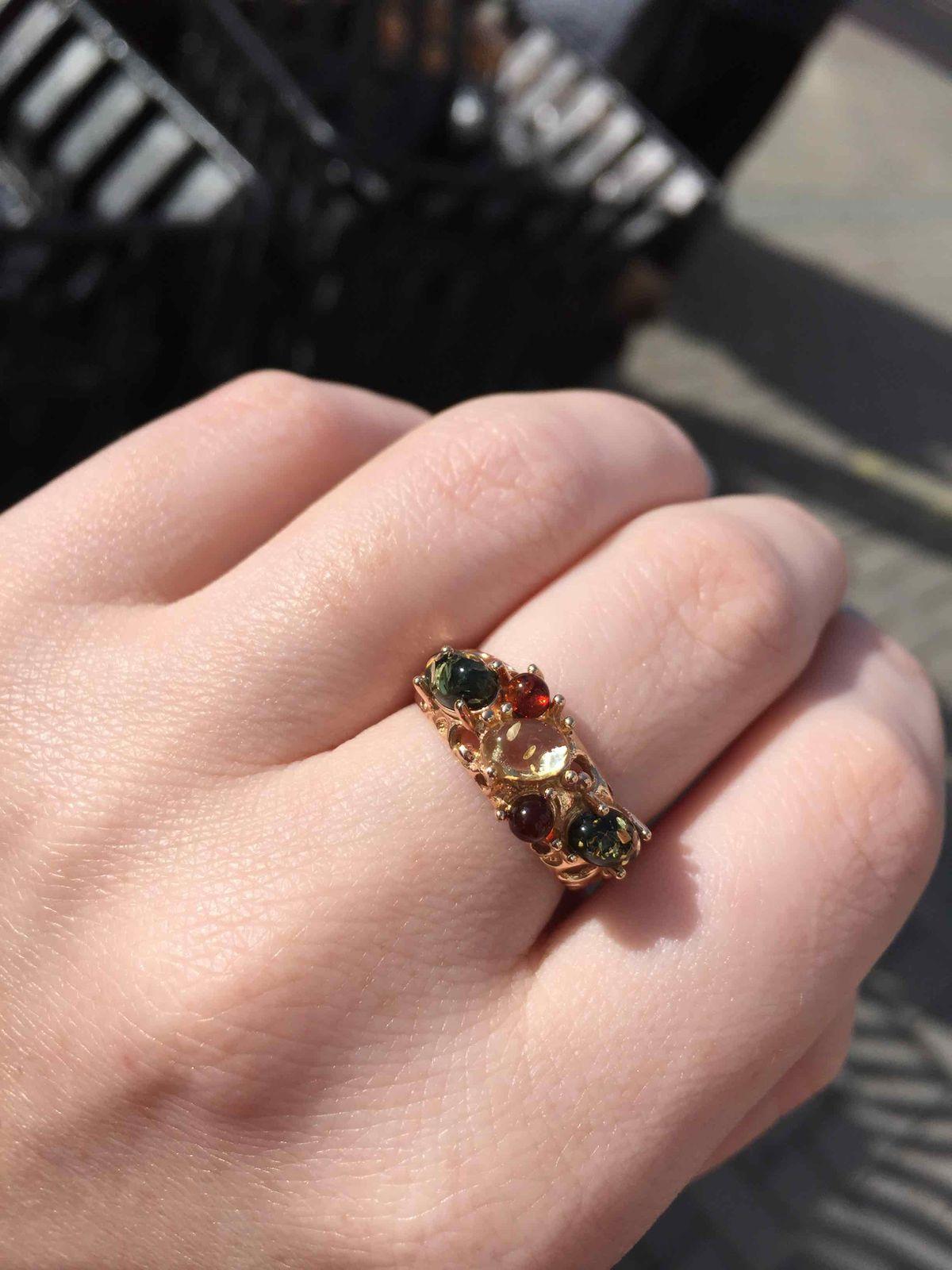 Весеннее нежное кольцо!