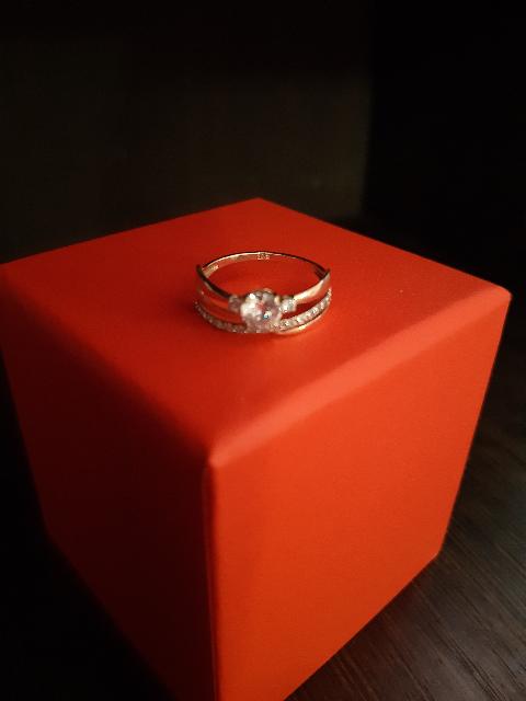 Красивое эффектное кольцо