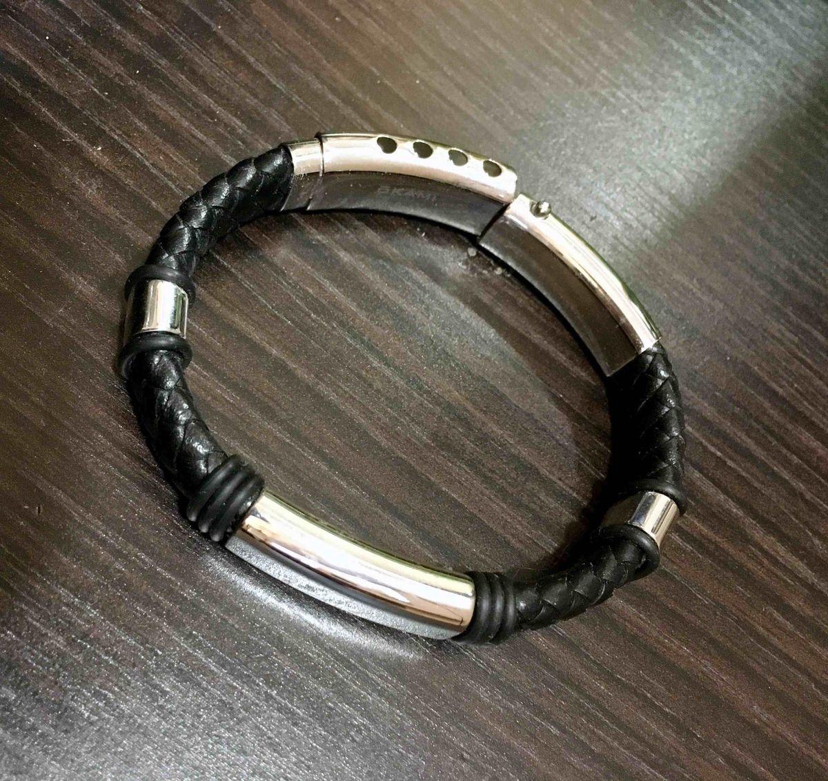 Стильный брутальный браслет