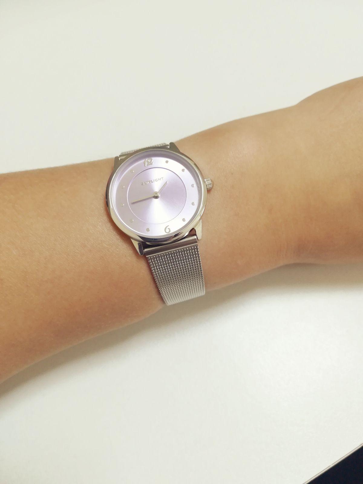 Часы на миланском ремешке!