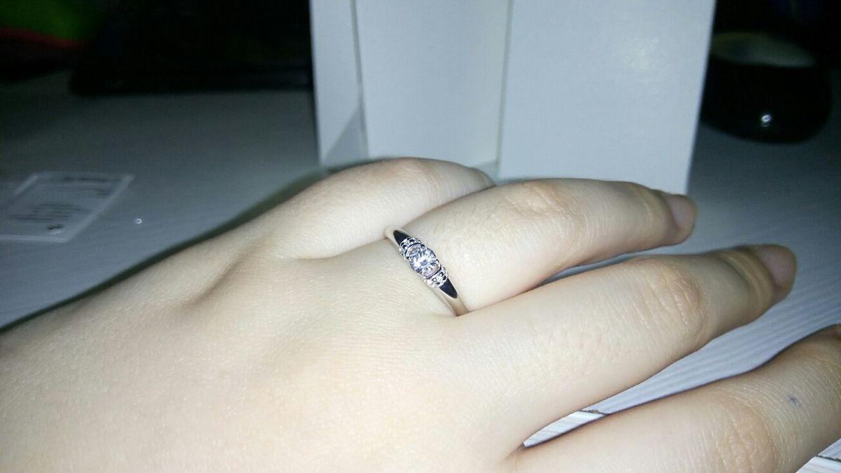 Очень классное кольцо, которое подойдёт в любом образе