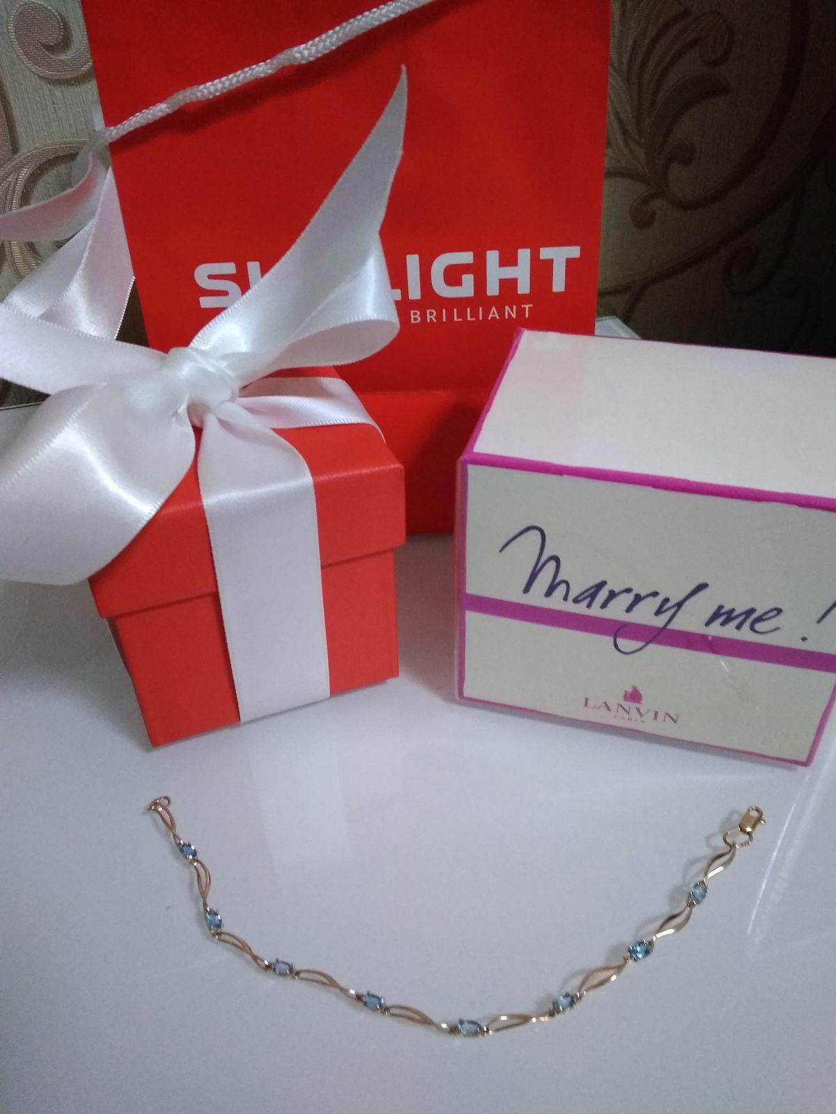 Нежный, изящный браслет на день рождения