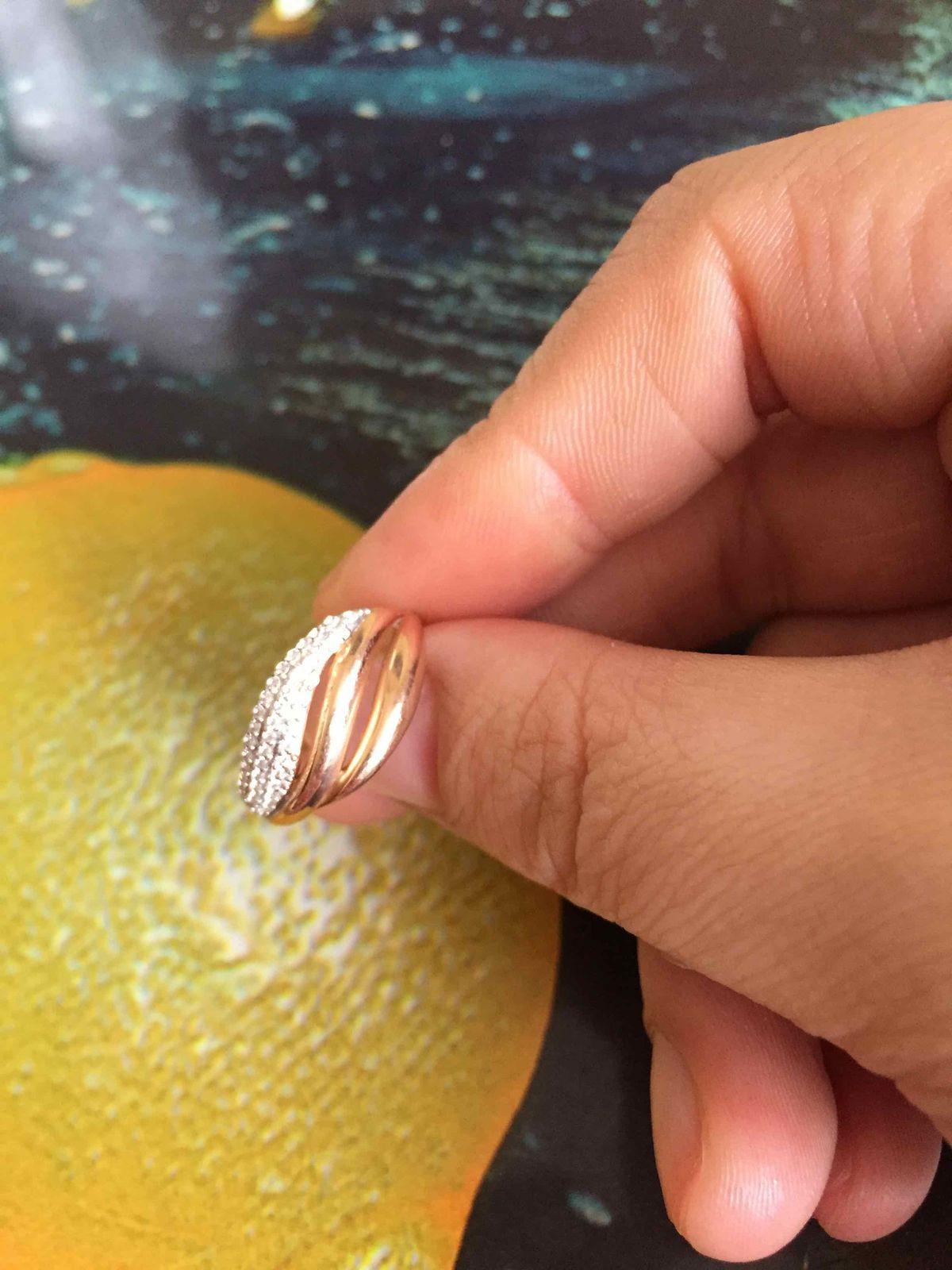 Кольцо с брилиантоми