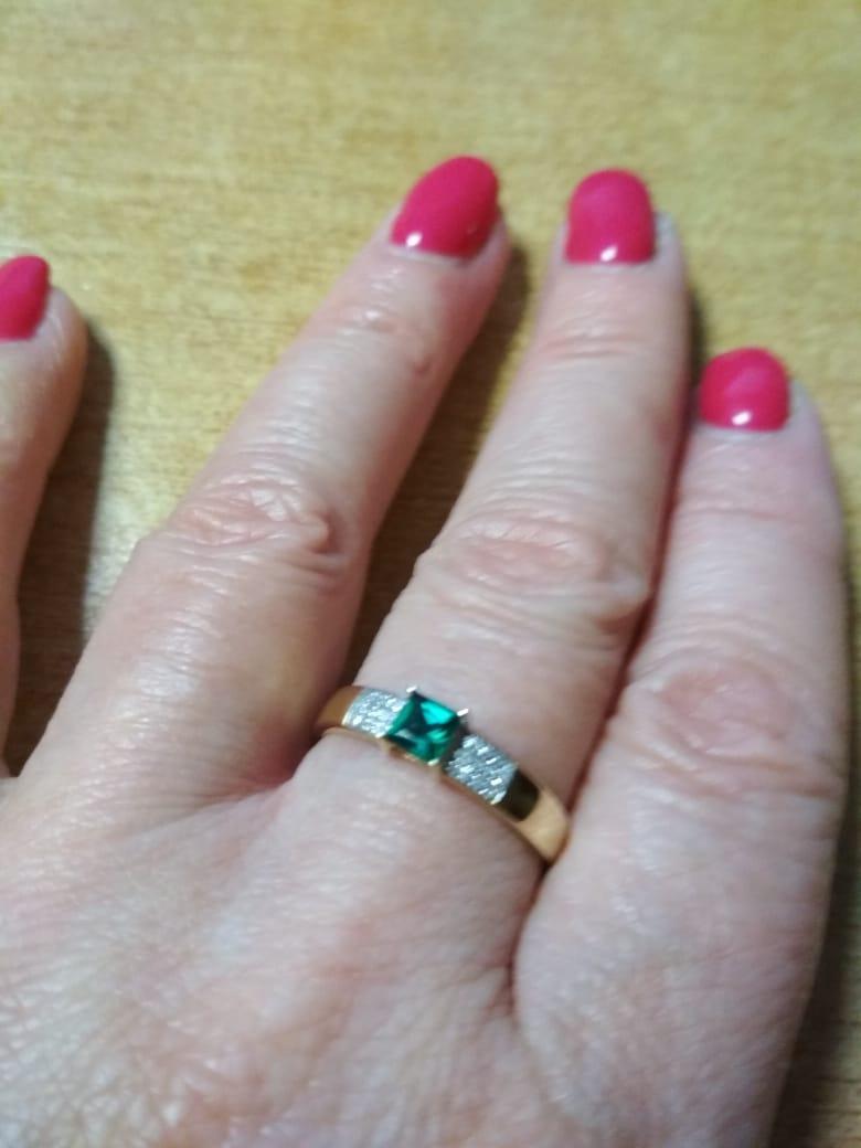 Кольцо на юбилей 55 маме