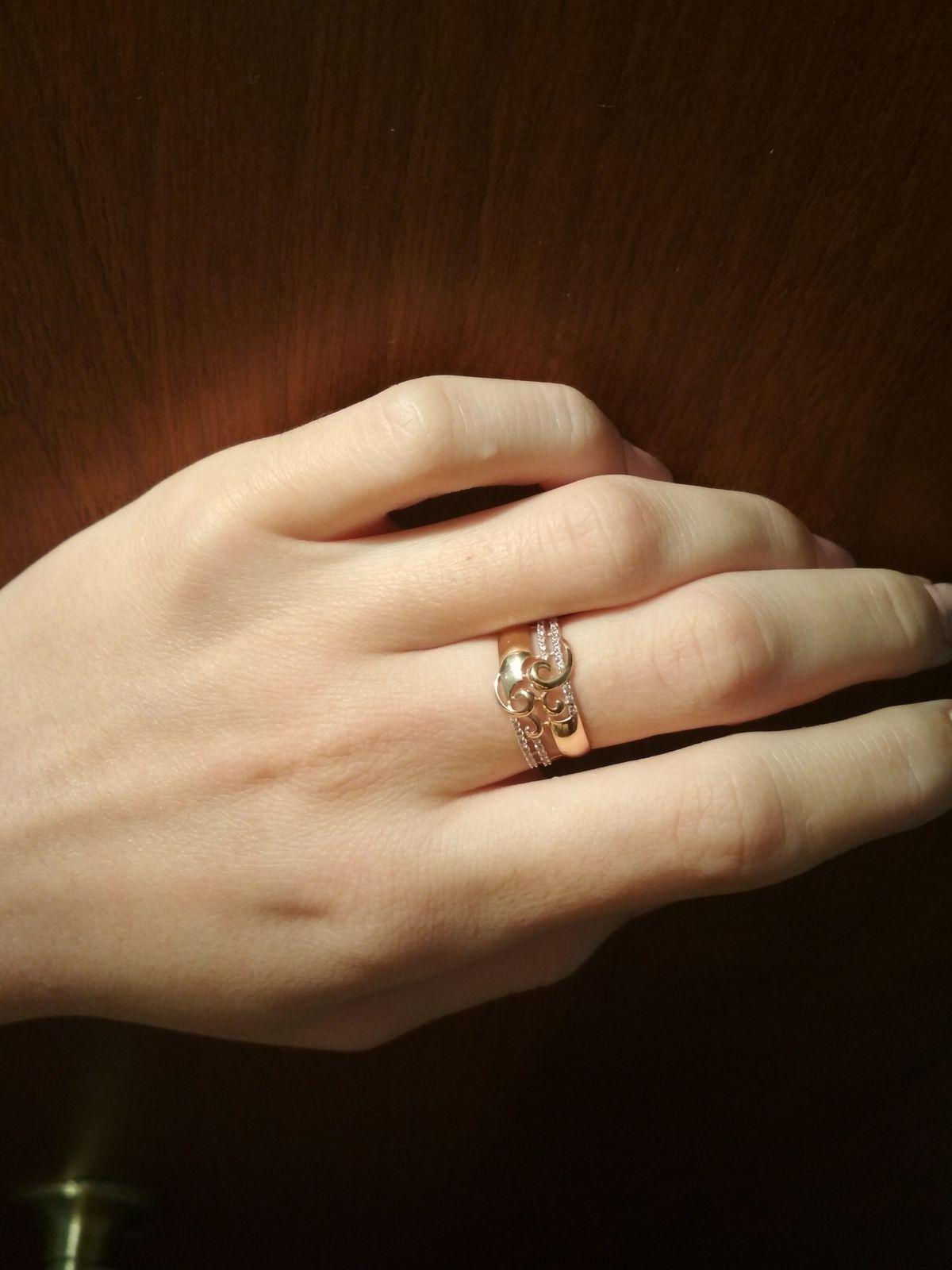 Дико красивое кольцо