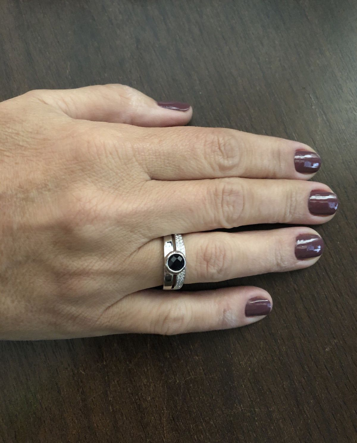Кольцо с сапфиром на значимое событие
