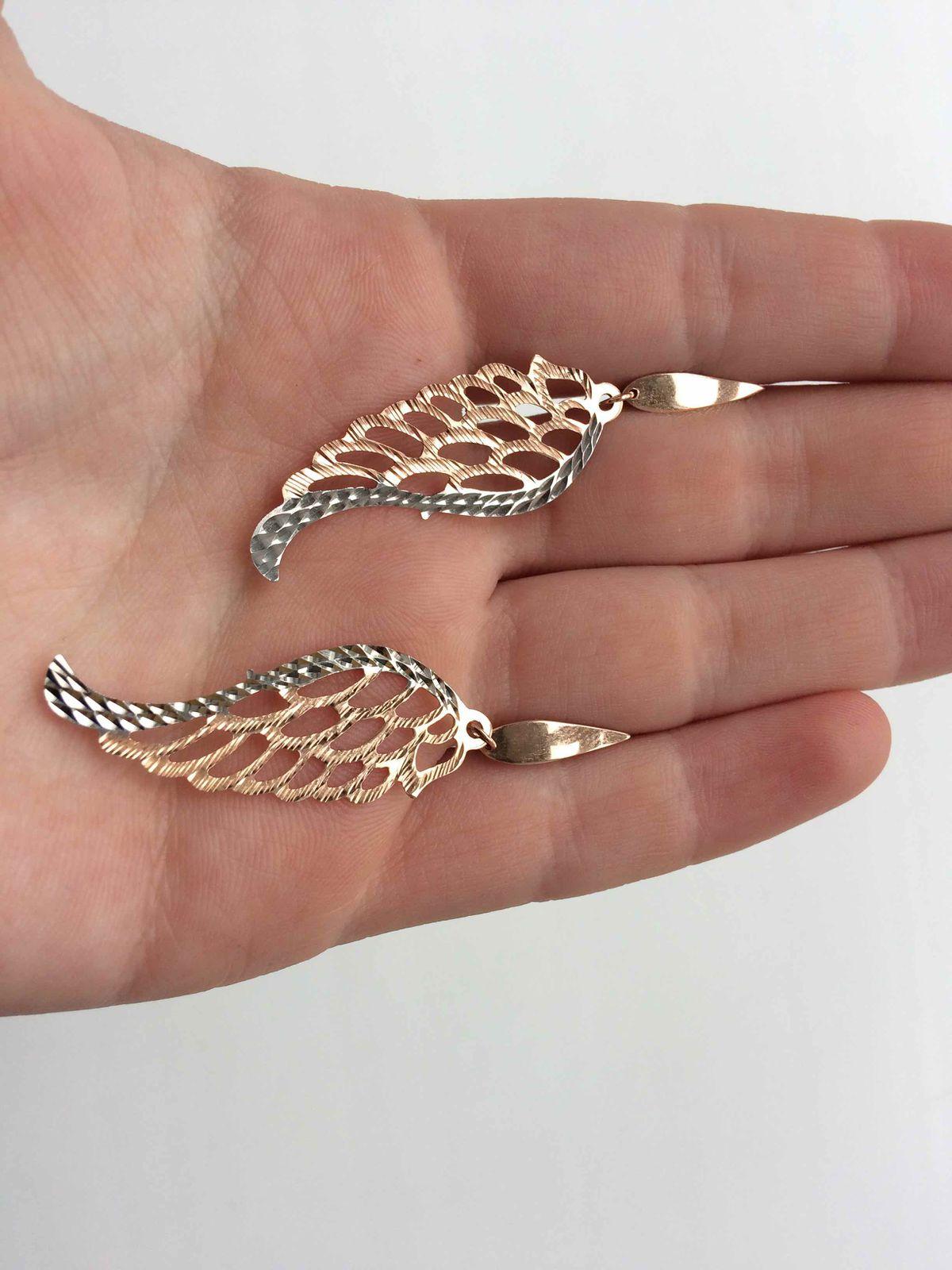 Волшебные серьги-крылышки!