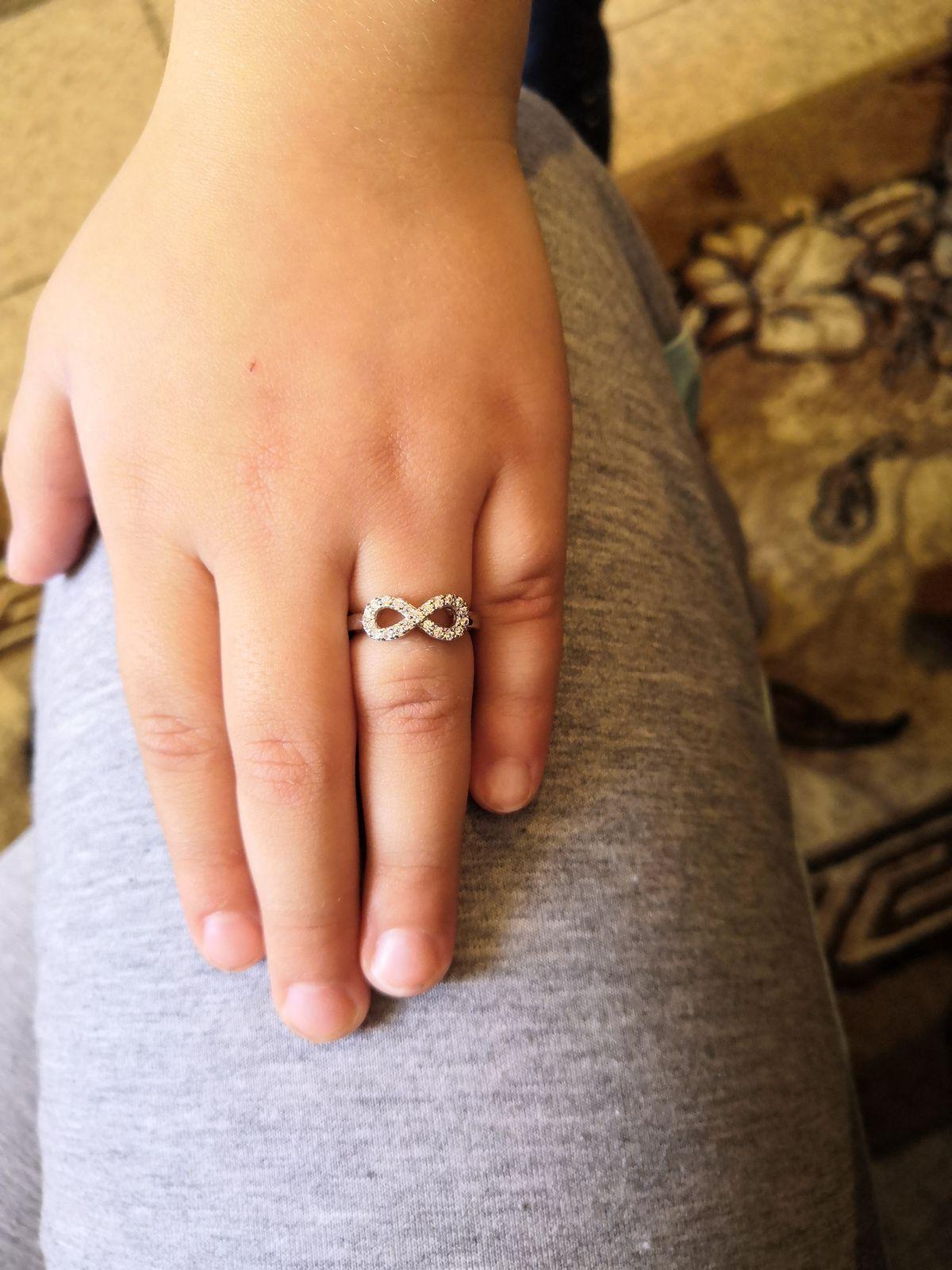 Кольцо детское
