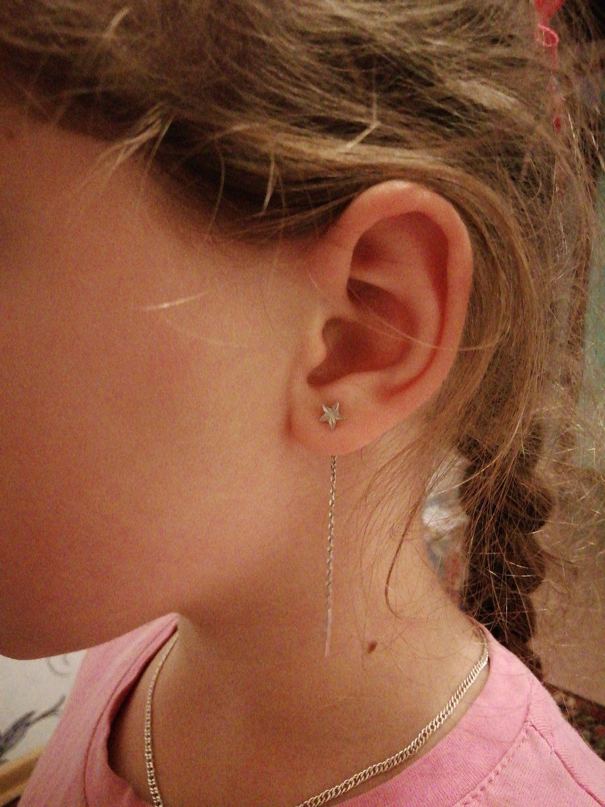 Серёжки для дочки