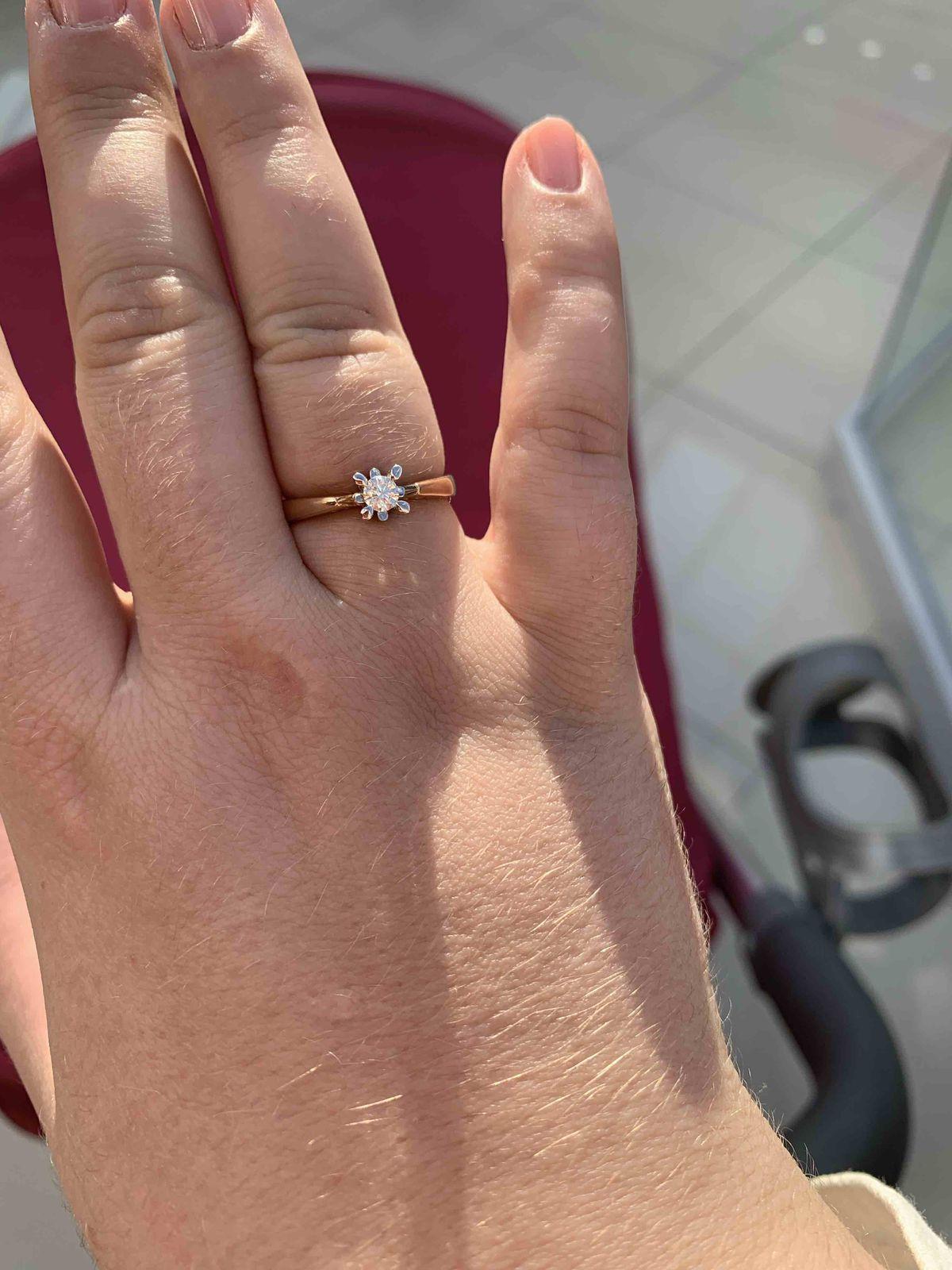 Очень стильное красивое кольцо.
